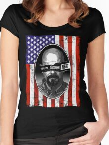 Anarchy in the ABQ Women's Fitted Scoop T-Shirt