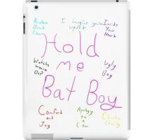 Bat Boy the Musical: Songs iPad Case/Skin