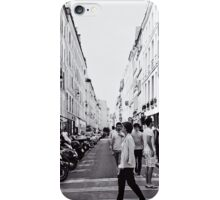 Crossing the Street iPhone Case/Skin