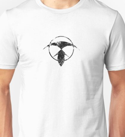 Renegade Merchant symbol - distressed (for light background) Unisex T-Shirt