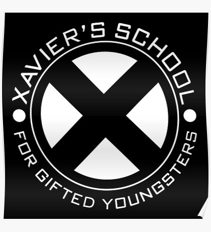 Xavier School for Gifted Youngsters Poster