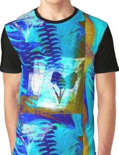 Tie Dye Palm by SpiritualArty Graphic T-Shirt