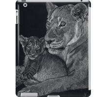 Mother's arms iPad Case/Skin