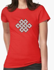 Endless Knot Womens Fitted T-Shirt