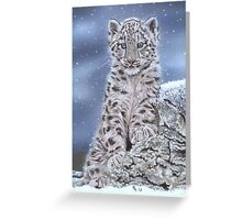 The Snow Prince Greeting Card