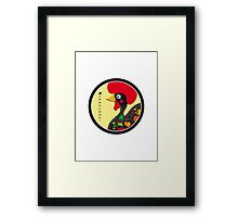 Symbols of Portugal - Rooster Framed Print