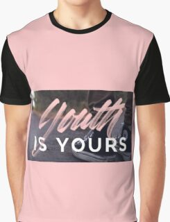 Youth is yours Converse Graphic T-Shirt