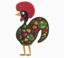 Symbols of Portugal - Rooster Nr. 02 by silvianeto