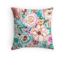 SMELLS LIKE COFFEE BY THE OCEAN Throw Pillow