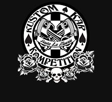 Skull, Roses, Pistons and Spades Unisex T-Shirt