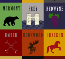 Game of Thrones House Sigils Sticker