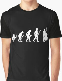Double Bass Evolution Of Man Graphic T-Shirt