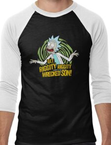 Rick and Morty get Riggity Men's Baseball ¾ T-Shirt