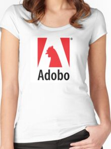 Adobo Inc Women's Fitted Scoop T-Shirt