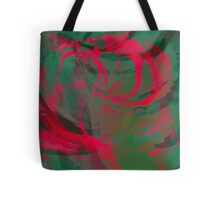 Abstract colorful watercolor illustration with paint strokes and swirls. Tote Bag