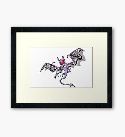 Trickster Daemon Framed Print