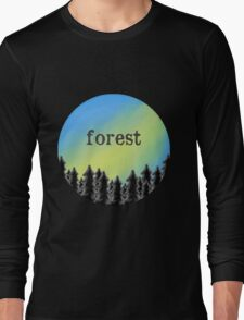 Forest - twenty one pilots Long Sleeve T-Shirt