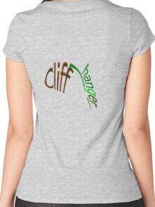CLIFF-HANGER Women's Fitted Scoop T-Shirt