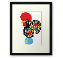 Symbols of Portugal - Rooster Nr. 01 Framed Print