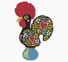 Symbols of Portugal - Rooster Nr. 01 by silvianeto