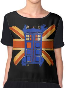 Dr Who - The Tardis - Vintage Jack Chiffon Top