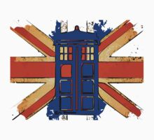 Dr Who - The Tardis - Vintage Jack One Piece - Long Sleeve