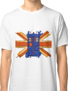 Dr Who - The Tardis - Vintage Jack Classic T-Shirt