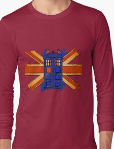 Dr Who - The Tardis - Vintage Jack Long Sleeve T-Shirt