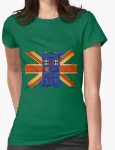 Dr Who - The Tardis - Vintage Jack Womens Fitted T-Shirt