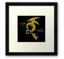 The Desolation Of Smaug Framed Print
