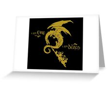 The Desolation Of Smaug Greeting Card