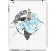 Jil Renegade Merchant pin-up - distressed (for light background) iPad Case/Skin