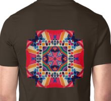 Cut and Paste Kaleidoscope  Unisex T-Shirt