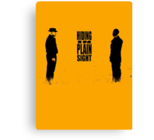 Hiding In Plain Sight 2 - Breaking Bad Canvas Print