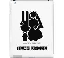 Team Bride VRS2 iPad Case/Skin