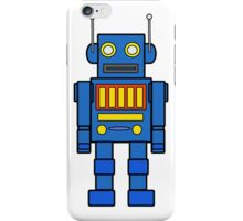 Blue Robot iPhone Case/Skin