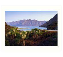 Lake Hawea - New Zealand Art Print
