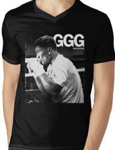 golovkin Mens V-Neck T-Shirt