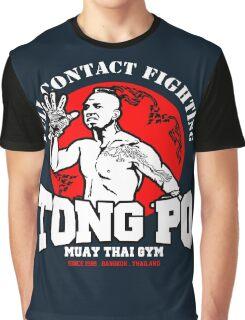 NEW TONG PO MUAY THAI FIGHTER VILLAIN KICKBOXER VAN DAMME MOVIE Graphic T-Shirt