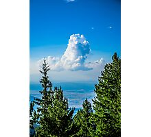 Lonely Cloud In The Sky Photographic Print