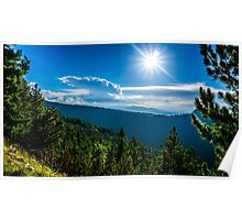 The Forests Of Rila Mountain Poster