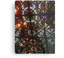 Fancy Coloured Ceiling Metal Print