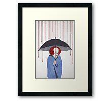 Murder Clown Framed Print