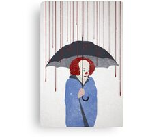 Murder Clown Canvas Print
