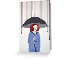 Murder Clown Greeting Card