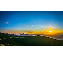 Beautiful Sunset Photographic Print
