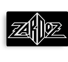 Zardoz logo Canvas Print