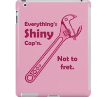 Not to Fret iPad Case/Skin