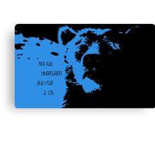 Blue-Baloo Canvas Print