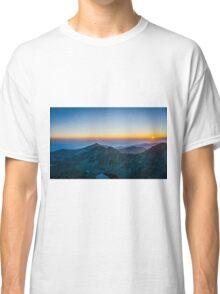 Sunrise Over Rila Mountain Classic T-Shirt